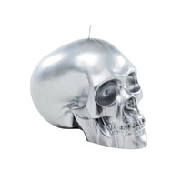 Skull candle silver - dwell - £39.95