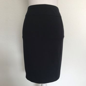 ELLEN TRACY WOMEN'S Plus Size XXL Black Pencil Skirt