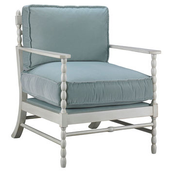 Mr & Mrs Howard, Laguna Chair, Blue, Accent & Occasional Chairs