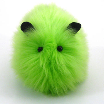 Gremlin the Lime Green Guinea Pig Stuffed Animal Plush Toy