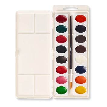 Reeves™ Semi-Moist Oval Water Colour Pans Set