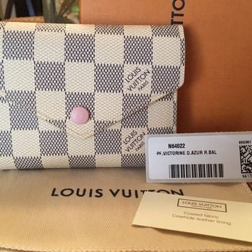 Louis Vuitton Azur Victorine Wallet!!!