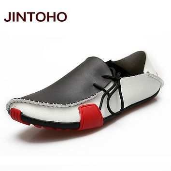 Men Shoes Luxury Wedding Flats Shoes Mens Designer Loafers Casual Shoes Leather Male Shoes