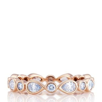 De Beers Rose Gold and Diamond Petal Ring | Harrods.com