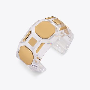 Tory Burch Geo Square Cuff