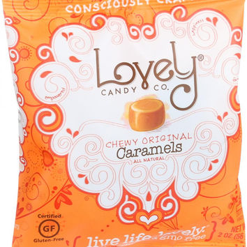Lovely Candy Caramels - Chewy Original - 2 oz - Case of 6