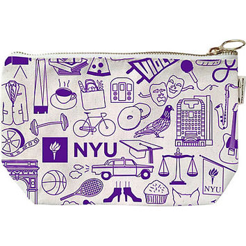 New York University Zip Pouch