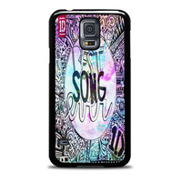 One Direction best song ever band galaxy Samsung Galaxy S5 Case