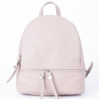 All Zipped in Backpack