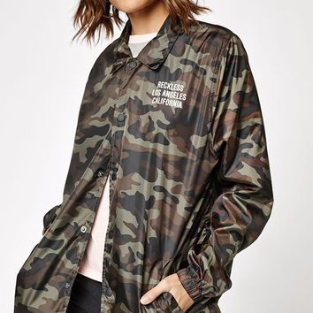 Young and Reckless In The Trenches Coach Jacket at PacSun.com