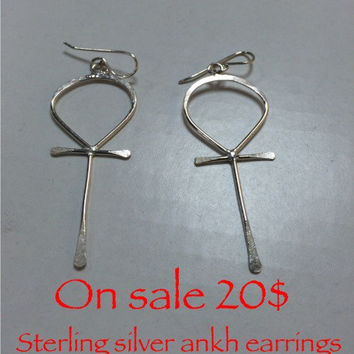 Ankh earrings sale !