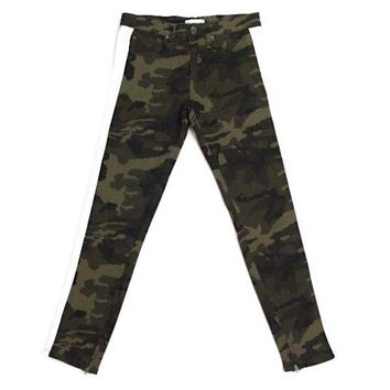 Fred Camo Striped Pants