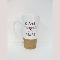 Personalized Coffee Cup * Cat Mom * Personalized Gift Mug * Coffee Cup * Personalized Coffe mug *