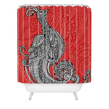 Valentina Ramos The Bird Shower Curtain