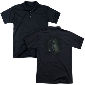 Arrow - In The Shadows (Back Print) Mens Regular Fit Polo