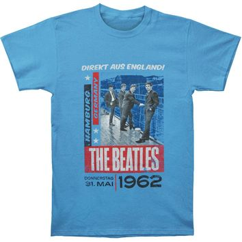 Beatles Men's  Direkt Aus England! T-shirt Heather Rockabilia