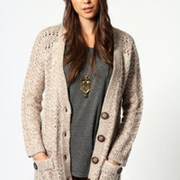 Emily Loose Stitch Boyfriend Cardigan