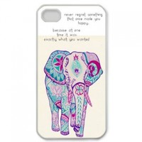 Popular Elephant New Style Durable Iphone 4,4s Case Hard iPhone Cover Case