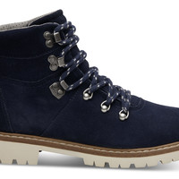 Waterproof Navy Suede Women's Summit Boots