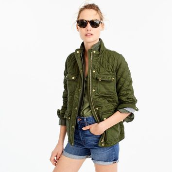 Quilted downtown field jacket