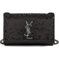 Saint Laurent Small Kate Magic Paillettes Shoulder Bag | Nordstrom