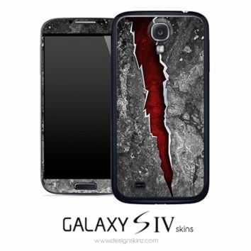 Scarred Tear Skin for the Galaxy S4