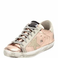 Golden Goose Superstar Metallic Platform Sneaker