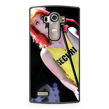 Hayley Williams Paramore Singer LG G4 Case