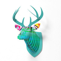 DENY Designs Home Accessories | Sophia Buddenhagen Color 1 Faux Deer Mount