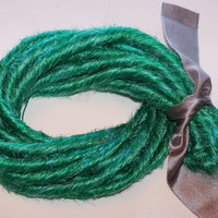 10 SE Single Ended Synthetic Dreads Seafoam Mint Light Green Dreadlock Braid Hair Extensions