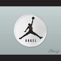 Set of 5 Urkel Jumpman Logo Spoof Embroidered Patches 2