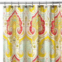 Indian shower curtain