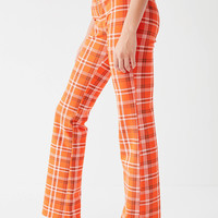 I.AM.GIA Polaris High-Rise Plaid Pant | Urban Outfitters