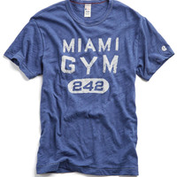 Miami Capsule T-Shirt in Washed Royal