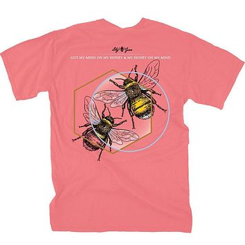 2 Bees Tee by Lily Grace