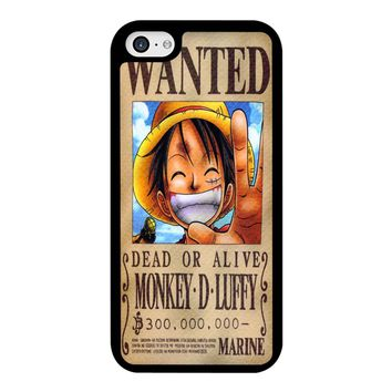 One Piece Wanted  iPhone 5C Case