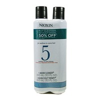 Nioxin System 5 Cleanser And Scalp Therapy Duo Set 10.1 Oz