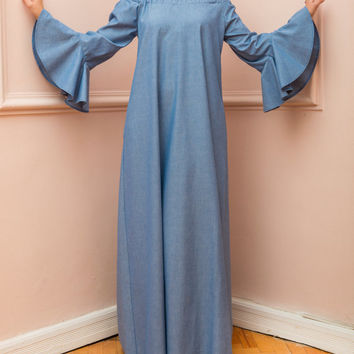 Our Choice of Top Denim Maxi Dress Plus Size Pictures ...