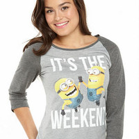 Despicable Me It's The Weekend Tee