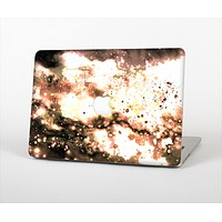 The Bright Gold Cloudy Lights Skin Set for the Apple MacBook Pro 13""