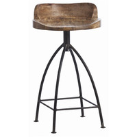 Henson Sandblast Antique Wax Counter Stool Stools Stools Accent Furniture