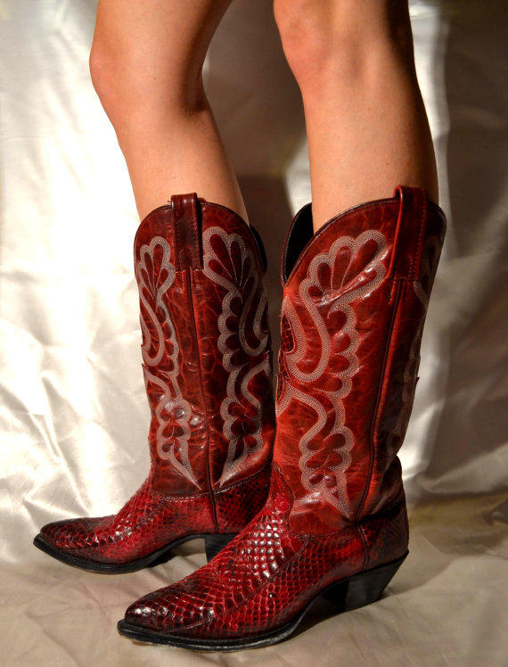 Best Vintage Cowboy Boots Women Products on Wanelo