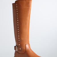 Side Stud Tall Boots (Wide Width)