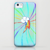 my grunge little pony.. rainbow dash iPhone & iPod Case by Studiomarshallarts