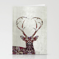 My Deer Love, Stationery Cards | Print Shop