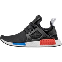 ADIDAS NMD XR1 MEN'S SHOE - CORE BLACK/RUNNING WHITE/RED/BLUE