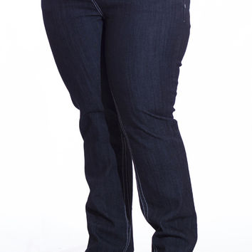 Plus Size Stretch Jeans