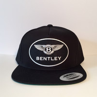 Bentley logo custom snapback hats