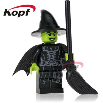 Single Sale Wizard of Oz Wicked Witch Valkyrie The Flash Building Blocks Super Heroes Bricks Collection Toys for children PG256