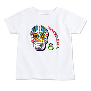 T-Shirt-Birthday T-Shirt-Party T-Shirt-Personalized-Custom T-Shirts-Day of the Dead-Book of Life